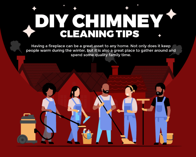 DIY Chimney Cleaning Tips (Infographic)