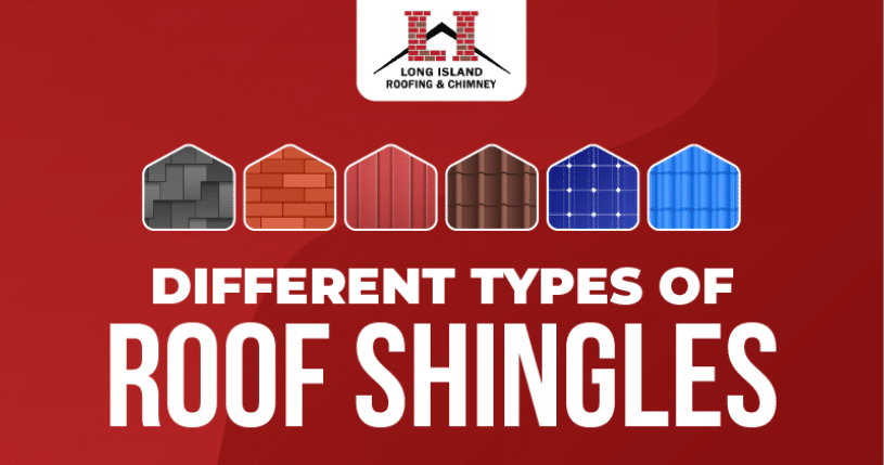 Different Types of Roof Shingles (Infographic)