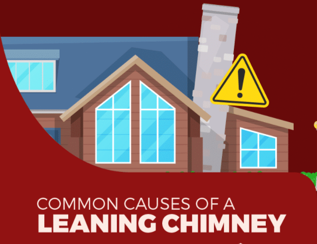 Common Causes of a Leaning Chimney